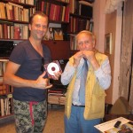 Ontmoeting met mondharmonica virtuoos Franco D'alessio in Tivoli (Italië)